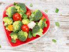 Gemüse, Wasser und Vollkornbrot halten Herz gesund