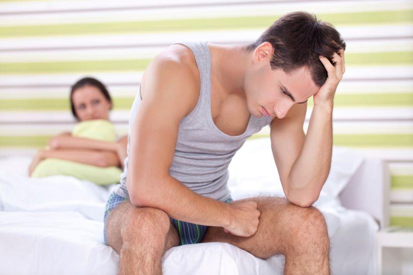Die Impotenz das mittlere Alter